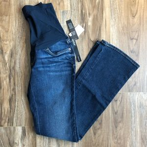 Maternity A pea in the pod bootcut jeans xs